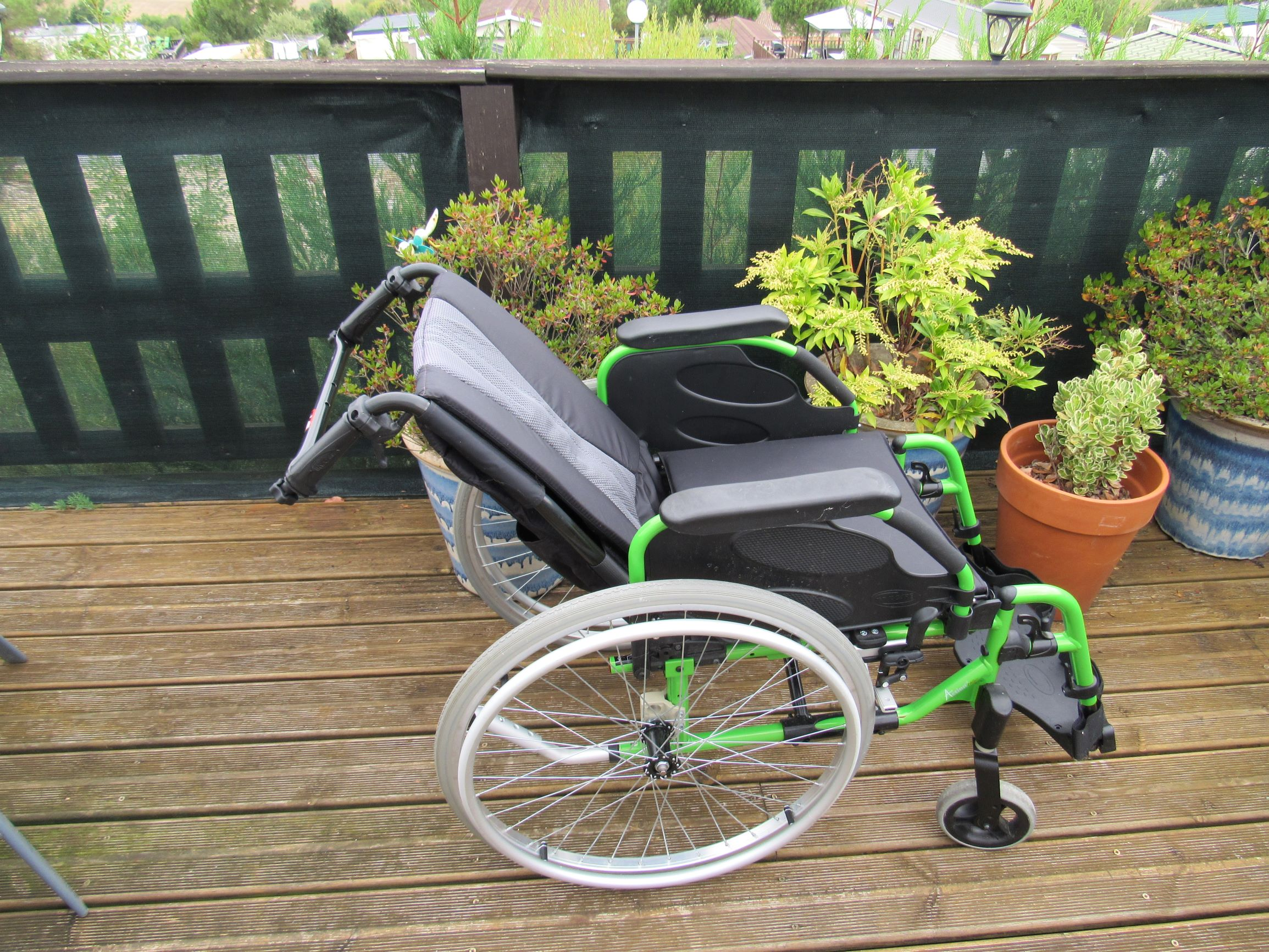 Reclined Wheelchair